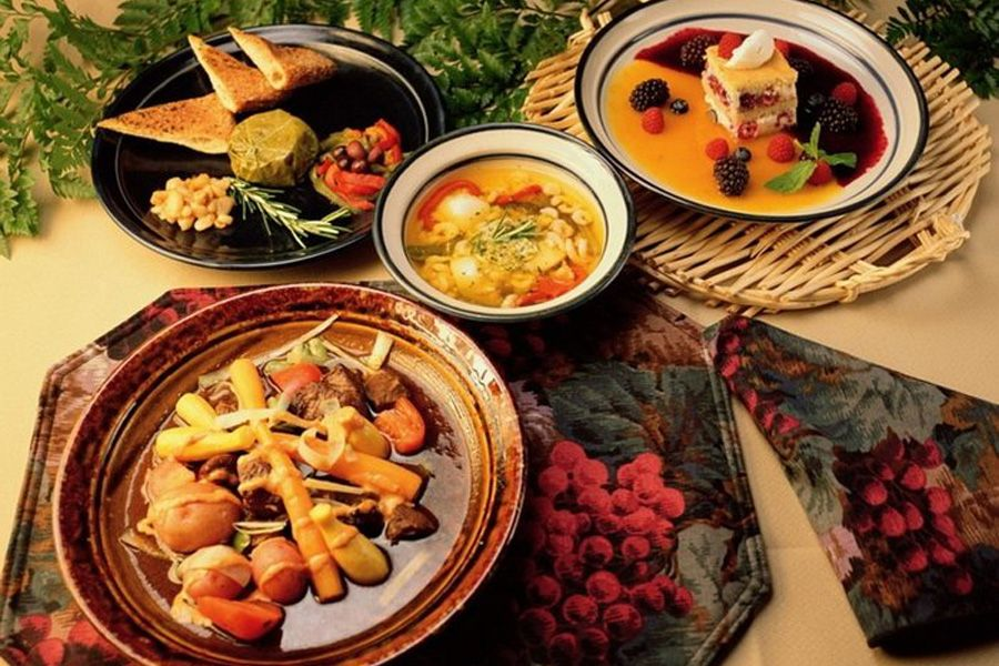 Рецепты блюд во дворце султана