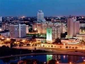 Столица Беларуси-Минск