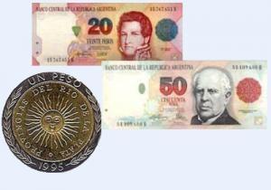 Аргентинская валюта - песо
