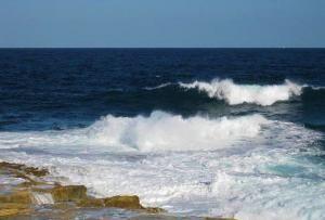 Зимний шторм на Мальте