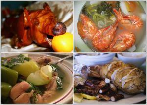 Дикие блюда Филиппин