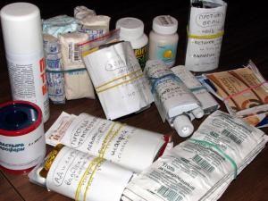 Медикаменты в дорогу