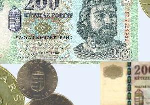 Венгерская валюта-форинты