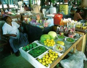 Рынок в Мале