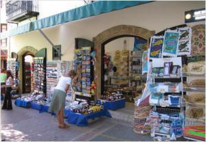Сувенирная лавка в Никосии