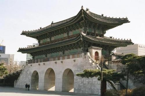 Врата Gwanghwamun