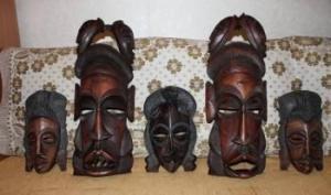 Церемониальные маски