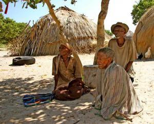 Местные жители Банги
