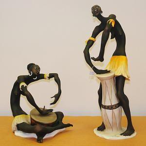 Африканские скульптуры