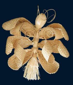 Сувенир из соломы