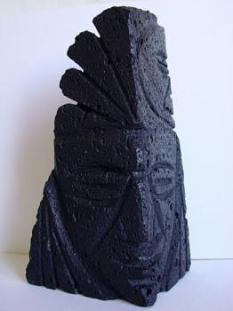 Сувенир из лавового камня