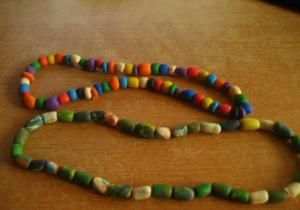Разноцветные бусы