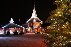 Рождественский дом в Деревне Санты Клауса