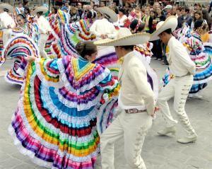 Народный танец Мексики
