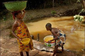 Местные жители Гвинеи