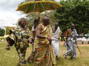 Местные жители Ганы