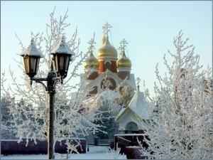Зима в Литве