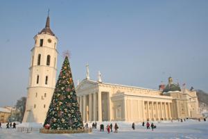 Зимний Вильнюс