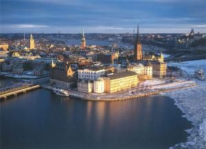 Стокгольм: Зима в городе