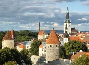 Старая часть города Таллина