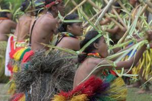 Местные жители Микронезии