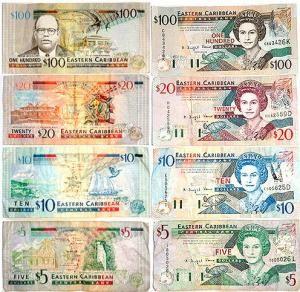 Восточно-карибские доллары