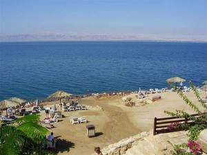 Один из многочисленный пляжей Иордании