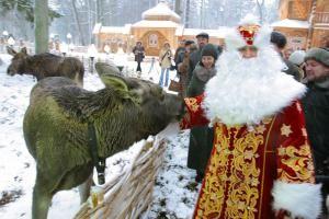 """Резиденция Деда Мороза в Национальном парке """"Беловежская пуща"""""""