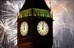 Встреча Нового года в Лондоне