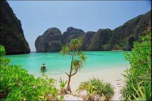 Пляж «белые небеса»
