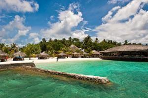 Пляж острова Kudafoludhoo