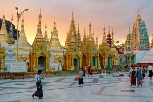 Главная достопримечательность Янгона