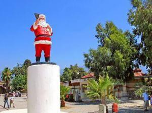 Статуя святого Николая в Турции