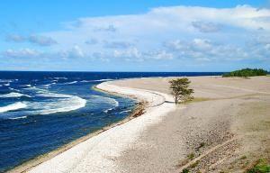 Пляж в Готланде
