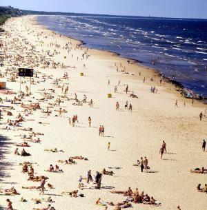 Пляж Юрмалы