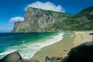 Норвежский пляж