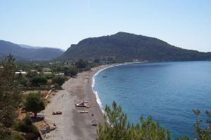 Пляж бухты Ovabuku