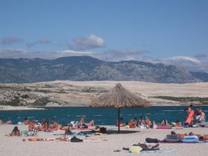 Zrce пляж