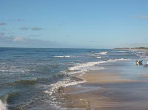 Пляж в Пинамаре