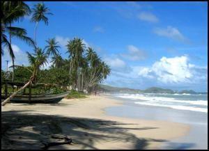 Пляж Плая Эль Агуа