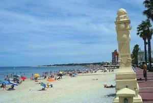 Пляж курорта Piriapolis