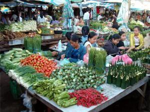 Рынок в в Паксе