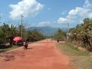 Улочка Луангнамтха
