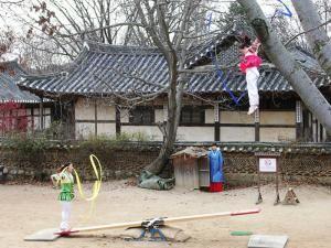Корейские качели