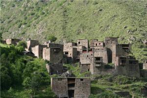 Крепость около села Шатили