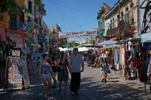 Ла-Бока. Торговая улица