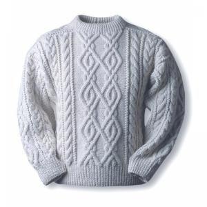 Аранский свитер