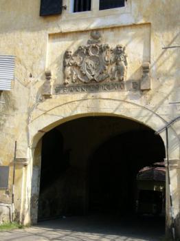 Старые ворота форта