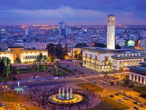 Вид на Касабланку