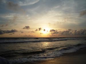 Закат над морем  в Калутара